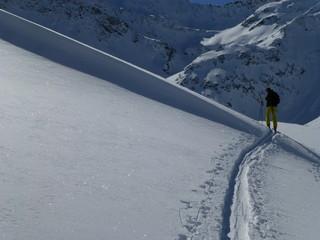 Ski tour in the snowy Alps 2