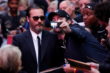 "Joaquin Phoenix arrives for UK premiere of ""You were never really there"" during the British Film Institute (BFI) London Film Festival in London"