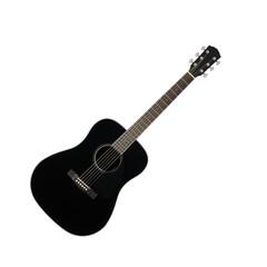 Musical instrument - Black acoustic guitar