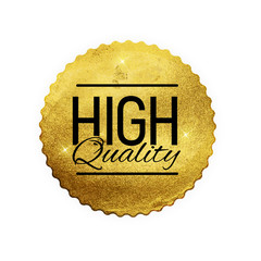 High Quality Shiny Golden Label  Luxury Badge Sign on White Background.Can be Used as  Best Choice, Price, Limited Edition, For Sale and other Business Sticker Logo. Vector Illustration