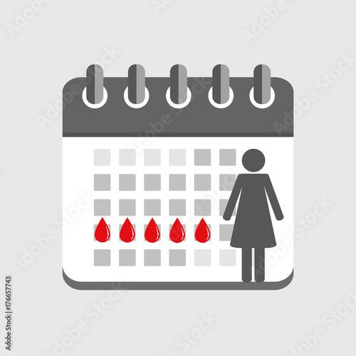 menstruation kalender weiblicher zyklus stockfotos und. Black Bedroom Furniture Sets. Home Design Ideas