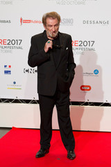 Actor Eddy Mitchel attends the opening of the Lumiere 2017 Grand Lyon Film Festival in Lyon