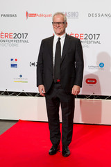 Thierry Fremaux, president of the Lumiere 2017 Grand Lyon Film Festival, attends the festival's opening evening in Lyon