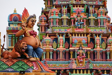 Der Hindu Tempel von Trincomalee in Sri Lanka