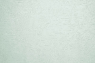 Blank green paper texture background, detail close up