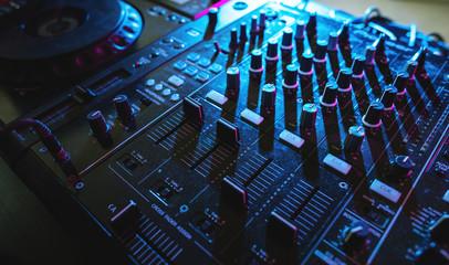 Sound mixer volume buttons