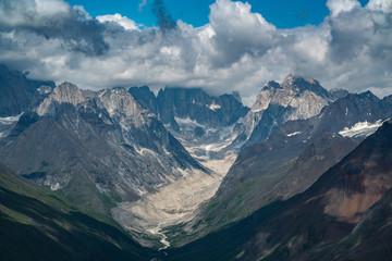 Alaska Mountain Glacier Landscape