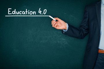 Education 4.0 concept