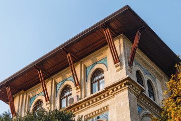 The Museum of Turkish and Islamic Arts at the Sultanahmet square with beautiful architecture