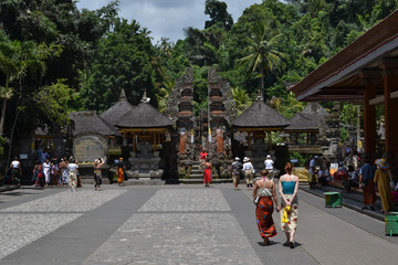 The Hindu temple (called Pura Tirta Empul) in Bali, Indonesia