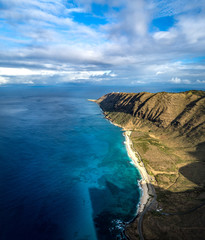 Fototapete - high above paradise