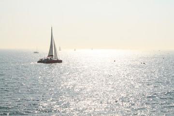 Promenade en voilier en méditerranée, France