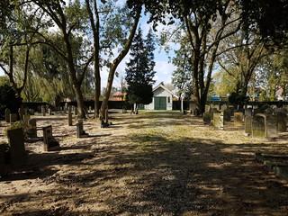 Historic graveyard of Nieuwerkerk aan den IJssel