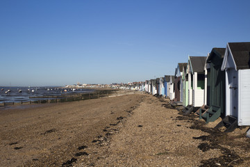 Thorpe Bay Beach, Essex, England