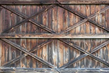 The old wooden door. Background
