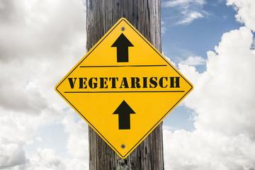 Schild 271 - Vegetarisch