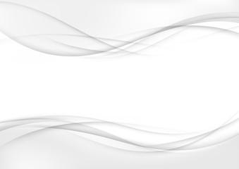 Modern futuristic mild graphic swoosh wave smoke border frame layout template