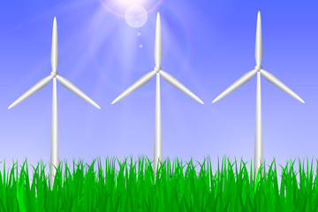 alternative energy. Green energy concept