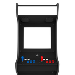 Arcade Game Machine Isolated