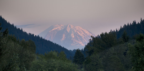 Mount Rainier from Issaquah Valley, Washington