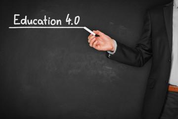 Education 4.0 concept