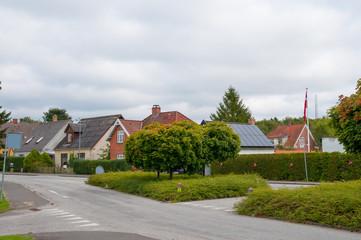 Town of Soroe in Denmark