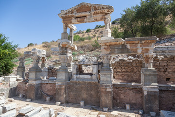 Ruins of the ancient city of Ephesus