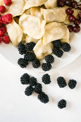 Handmade food vegetarian berries cooking restaurant culinary kitchen meal concept