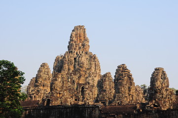Bayon Temple overview