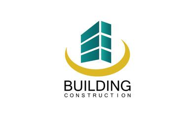 Building construction logo