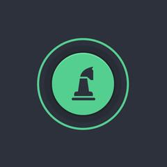 Modern Circle App Button