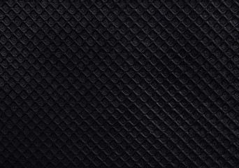 black rubber texture background.