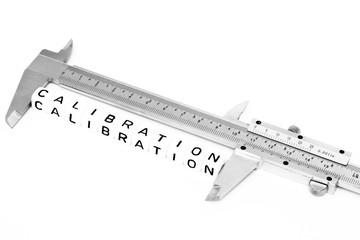 Calibration symbol with a caliper