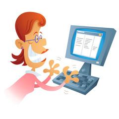 Computing Woman