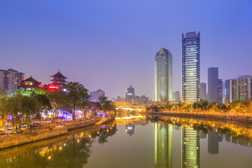 Chengdu An Shun Bridge