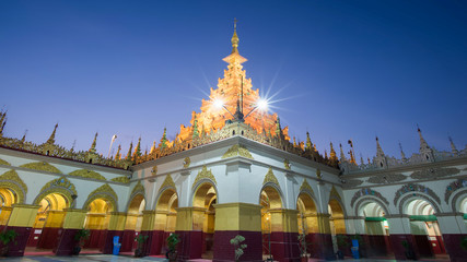 Mahamuni temple in mandalay is the place of most important Mahamuni buddha image and famous place for tourist and buddhist myanmar people,Mandalay,Shan state,Myanmar