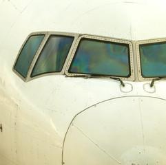 airplane windshield