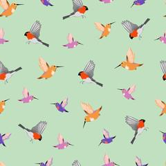 birds. seamless background