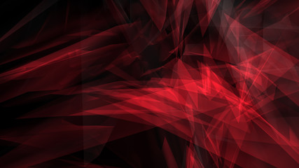 Creative random shapes abstract background