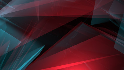 Dynamic geometric abstract background