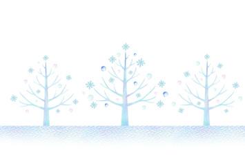 冬の木 風景