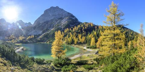 am romantischen Seebensee im Tiroler Ausserfern