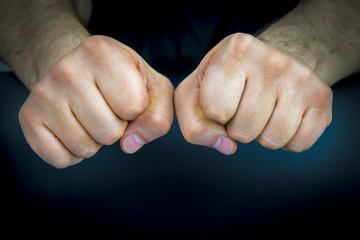 Human fists