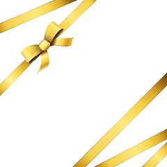 Cadeau - Ruban doré