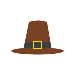 Thanksgiving Pilgrim's Brown Hat