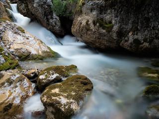 Autumn's waterfalls