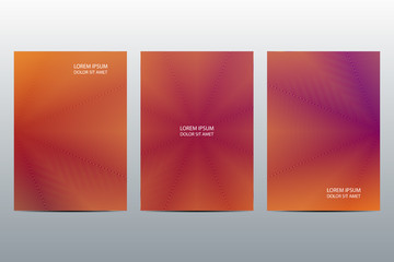 Minimal abstract covers design. Poster with graphics background. Vector illustration.