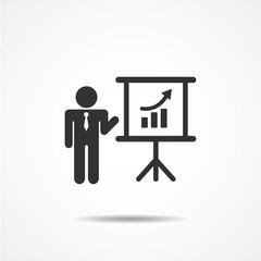 people icon business  presentation vector illustration