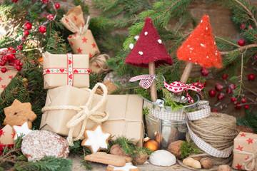 Zu Weihnachten basteln