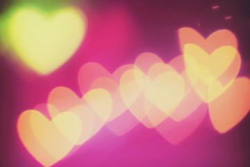 Hearts (heart shaped bokeh)